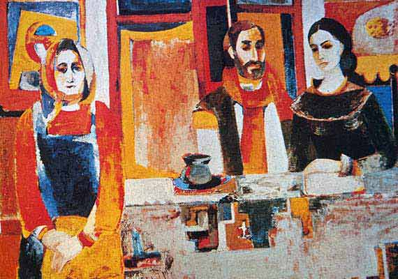 Oil on canvas, 1972